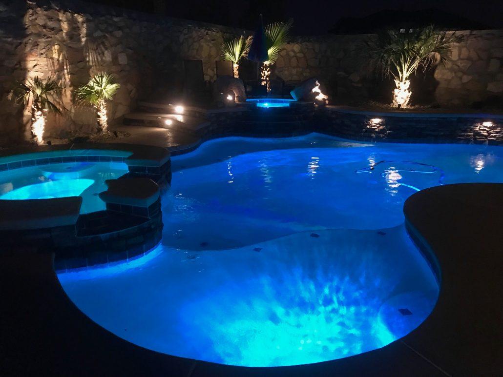 Custom Swimming Pools In El Paso Tx In Ground Custom