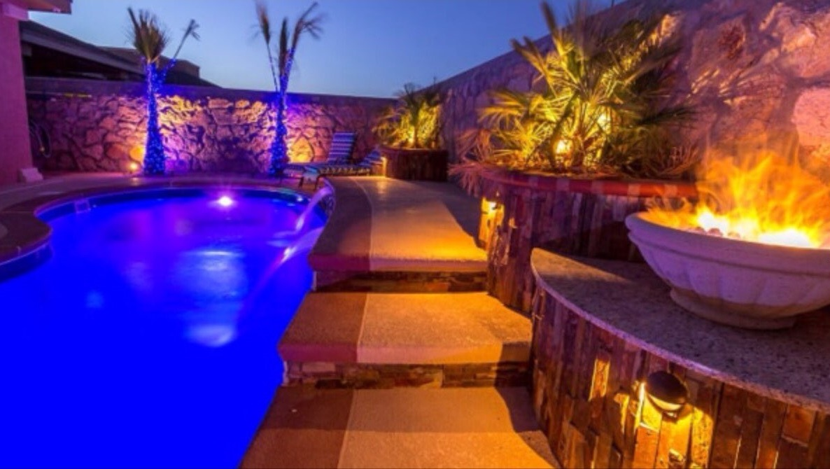 Custom Swimming Pools In El Paso Tx In Ground Custom Pool Builder